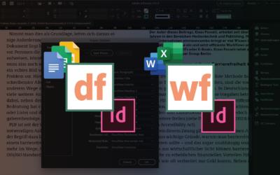 Vorgestellt: die InDesign Plug-ins WordsFlow und DocsFlow