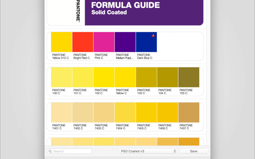 Tipp: Pantone Color Manager Software