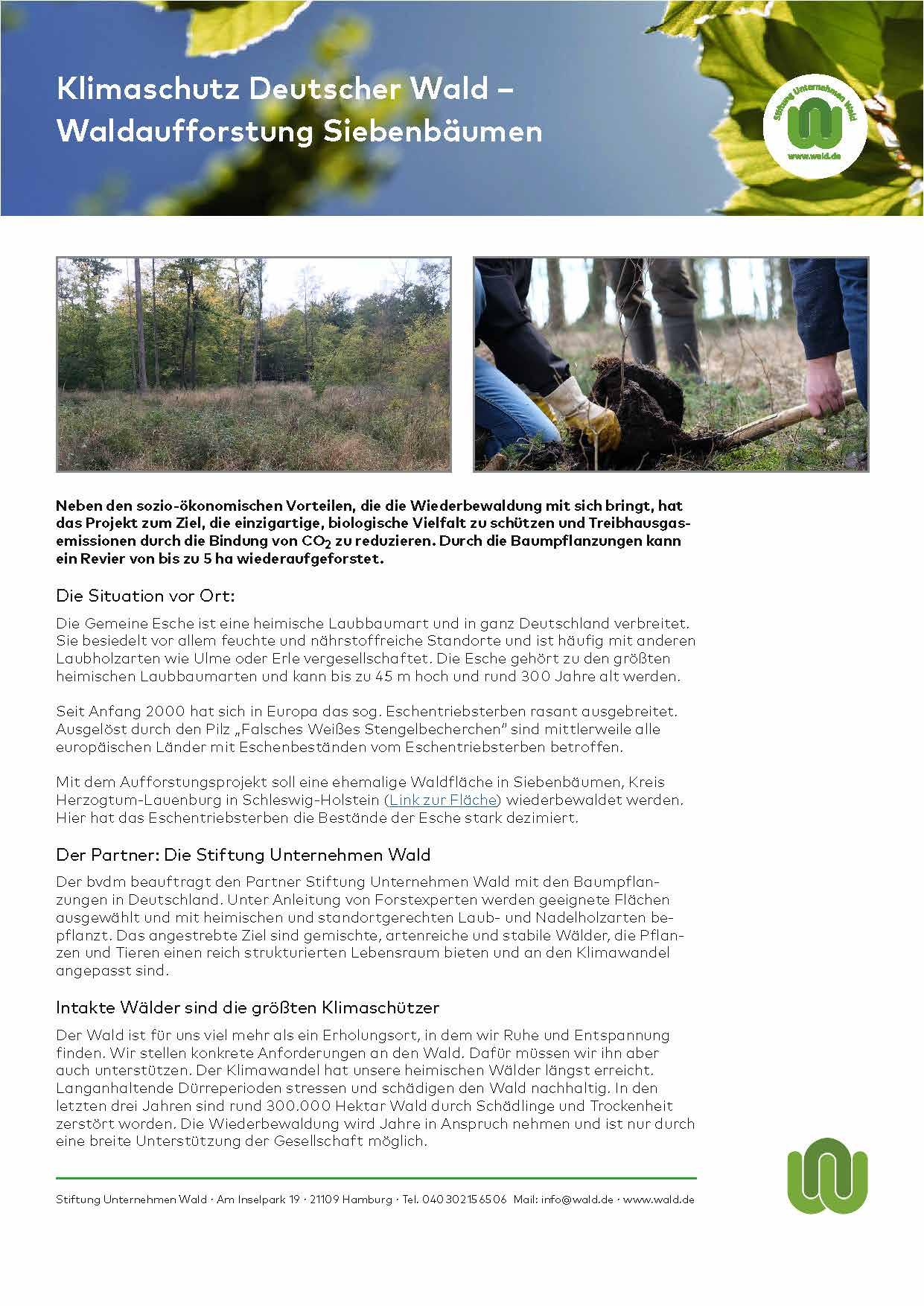 Klimaschutzprojekt Uganda